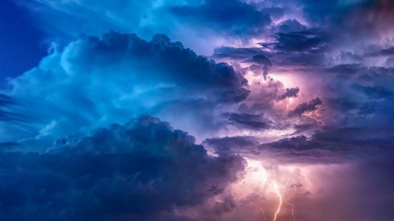orage et tremblements
